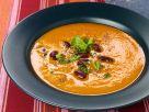 Muskat-Kürbissuppe mit Kidneybohnen Rezept