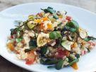 Naturreisrisotto mit Portulak, Zucchini und Tomaten Rezept