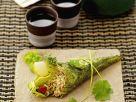 Nori-Röllchen mit Reisfüllung Rezept