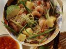 Nudel-Garnelen-Topf mit Mango auf asiatische Art Rezept