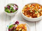 Nudel-Hackfleisch-Gratin mit Zucchini Rezept