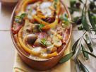 Nudelauflauf mit Mortadella und Gemüse Rezept