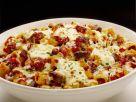 Nudelauflauf mit Rindfleisch und Mozzarella Rezept