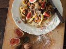 Nudeln mit Feigen, Nüssen und Käse Rezept