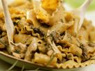 Nudeln mit Puten-Pilzragout Rezept