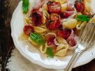 Nudeln mit Schinken und Tomaten Rezept