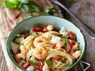 Nudeln mit Shrimps mit Tomaten Rezept