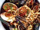 Nudeln mit Tomaten-Muschelsauce Rezept