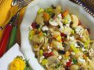 Nudelsalat mit Pilzen und Schafskäse Rezept
