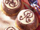 Nugat-Marzipan-Muffins Rezept