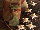Nuss-Nougat-Sterne Rezept
