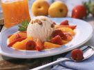 Nusseis mit Früchten Rezept