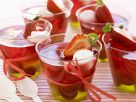 Obstgelee mit Marshmellows Rezept