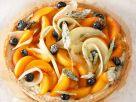 Obstkuchen mit Zucker-Kräutern Rezept