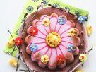 Österliche Blumentorte Rezept