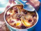 Ofenauflauf mit Kirschen, Pflaumen und Aprikosen Rezept