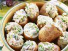 Ofenkartoffeln mit Thunfischfüllung Rezept