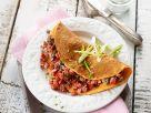 Omelett mit Hackfleisch-Paprikafüllung Rezept