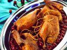 Orangen-Ente mit Kirschen Rezept