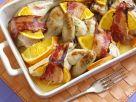 Orangenhähnchen im Speckmantel Rezept