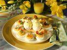 Osterplatte mit gefüllten Eihälften Rezept