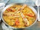 Paella de Mariscos Rezept