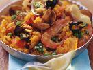 Paella mit Pesto Rezept