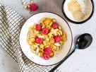 Pancake Cereal mit Beeren Rezept