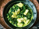 Paneer-Spinat-Curry Rezept