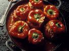 Paprika mit Hackfleischfüllung Rezept