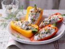 Paprika mit Hüttenkäse Rezept