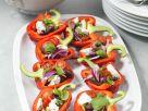 Paprika mit Salatfüllung Rezept