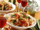 Paprika-Nudelsalat Rezept