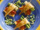 Paprika-Omelett Rezept