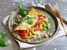 Paprika-Omelette mit Kräutern Rezept