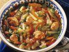 Paprikasuppe mit Fleischbällchen Rezept