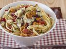 Pasta mit Blauschimmelkäse und Walnüssen Rezept