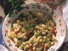 Pasta mit Bohnen und Paprika Rezept