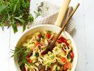 Pasta mit Gemüse und Kräutern Rezept