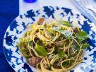 Pasta mit Herzmuscheln, Kerbel und Babyspinat Rezept