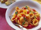 Pasta mit kalter Tomatensoße Rezept
