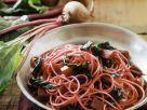 Pasta mit Mangold und Roter Bete Rezept