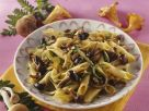 Pasta mit Pilzen-Zucchini-Pesto Rezept