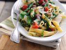 Pasta mit Spargel, Salsiccia und Tomaten Rezept