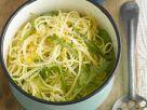 Pasta mit Zitrone und Rucola Rezept