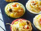 Pasta-Muffins mit Mozzarella Rezept