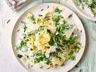 Pasta Primavera mit Parmesan Rezept