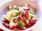 Pastasalat mit Erdbeeren Rezept