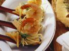 Pastasalat mit Garnelen Rezept