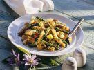 Pastasalat mit Hähnchen und Spargel Rezept